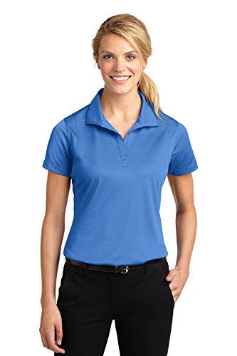Sport-Tek Women's Micropique Sport Wick Polo XL Blue Lake