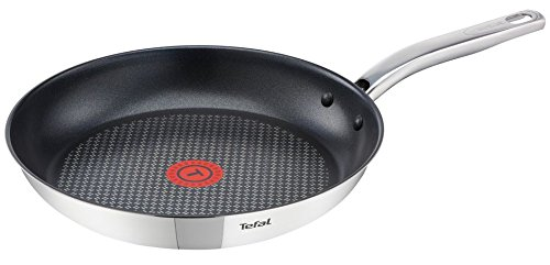 Stainless Steel Tefal Intuition Frying Pan Non Stick Cooking 24cm