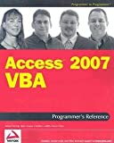 img - for Teresa Hennig: Access 2007 VBA Programmer's Reference (Paperback); 2007 Edition book / textbook / text book