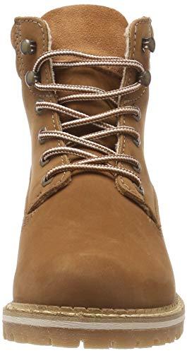 540 brick 21 Red Combat Tamaris Boots Women's 25242 pwYBqB0