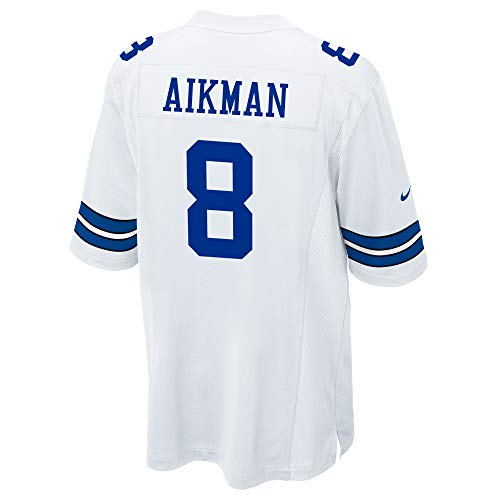 - Dallas Cowboys NFL Nike Youth Game Jersey, Troy Aikman, White, Large