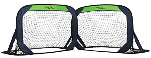 Goals Indoor Portable Soccer - Sport Squad Portable Soccer Goal Net (Set of 2)