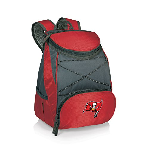 NFL Tampa Bay Buccaneers PTX Insulated Backpack Cooler, Red