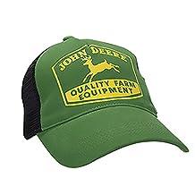 Deere Youth Quality Farm Equipment Mesh Green Hat
