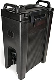 Carlisle XT500003 Cateraide Insulated Beverage Server/Dispenser, 5 Gallon, Black