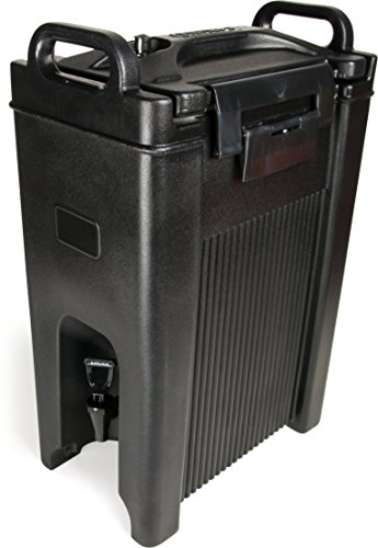 Carlisle XT500003 Cateraide Insulated Beverage Server Dispenser, 5 Gallon, Black Cambro Beverage Dispenser