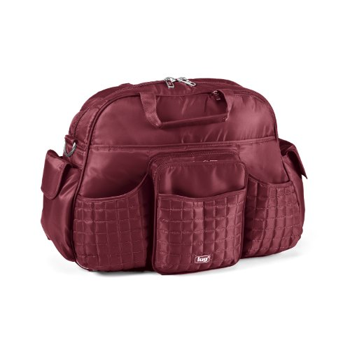 Lug Tuk Tuk Carry-All Bag, Cranberry Red, One Size by Lug
