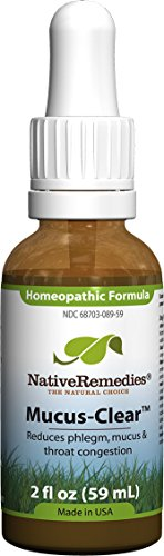 Native Remedies Mucus-Clear, 59ML Bottle