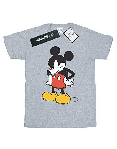 T Disney Look di Down shirt Angry Sport Gris Homme Topolino xrq4qPn