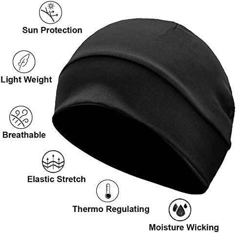 Details about  /Caps Adjustable Hats Elastic Head Covers with Sweatband Adjustable One size Hat
