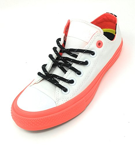 9dd637bf0557 Converse Chuck Taylor All Star II Shield Canvas Ox White Lava Gum Lace up