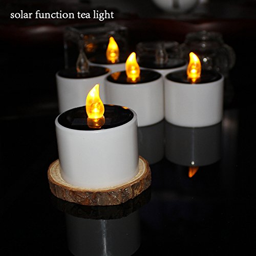 Indoor Solar Candle Lights