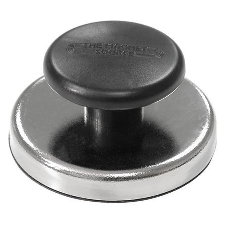 Round Magnet with Handle, 25 lb. Pull