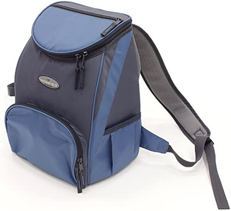 Greenfield Collection Deluxe Lightweight Backpack Cool Bag – Powder Blue
