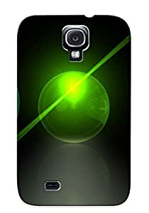 Crazinesswith Galaxy S4 Hybrid Tpu Case Cover Silicon Bumper Glass Spheres