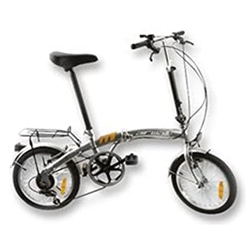 16 Silver Folding Airwalk Bike Toys Games