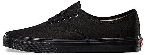 Fashion Shoes Canvas Black Women's Black Sneakers Authentic Vans HZgqff