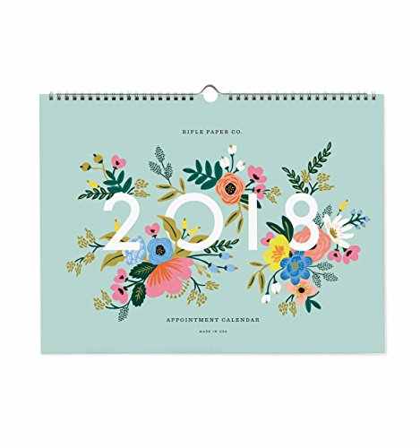 Rifle Paper 2018 Appointment Calendar