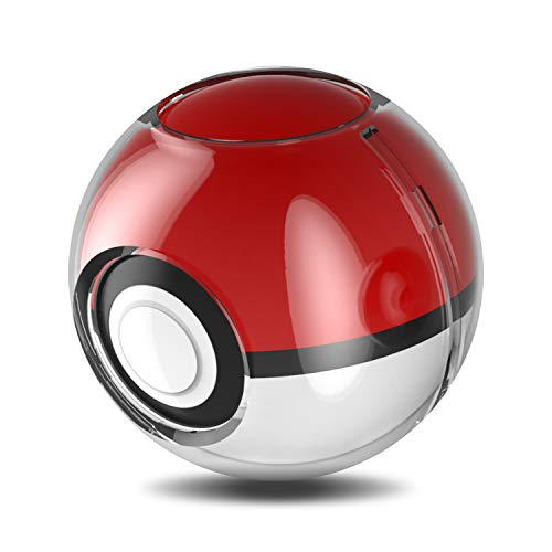 Protector Case for Poke Ball Plus Switch, Clear Case for Poke Ball Plus Controller Compatible with Nintendo Switch Let's Go, Pikachu! Let's Go, Eevee! - Clear