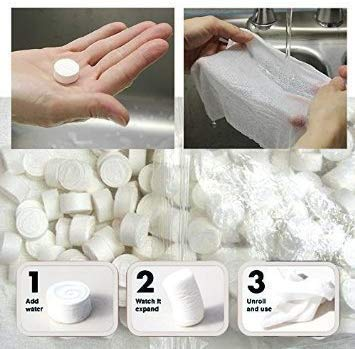 Softwood GS – Magic Tablet Coin Tissue (Candy Pack of 50 pieces + 10 pieces Extra as an introductory offer) Price & Reviews