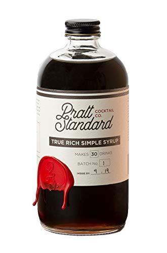 Pratt Standard Cocktail Company True Rich Simple Syrup, 16 OZ
