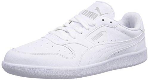 Puma Icra Trainer L - zapatilla deportiva de cuero hombre blanco - Weiß (white-white 02)