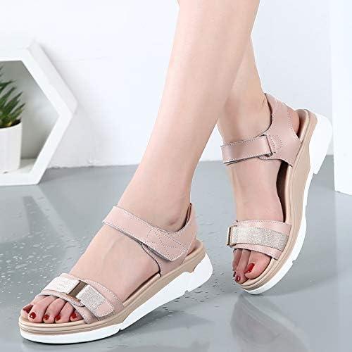 2019 Summer New Bottom Roman Sandals Female Korean Wild Platform Student Shoes