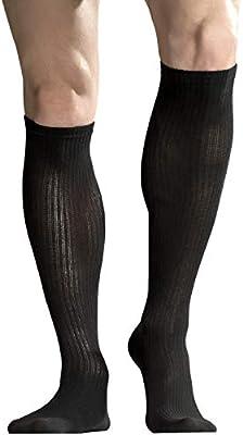 +MD 3 Pairs Bamboo Compression Socks Women /& Men 8-15mmHg Knee High Socks