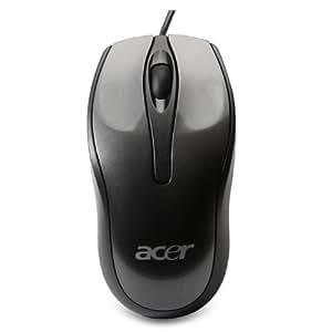 Acer LC.MSE00.005 - Ratón, USB, Con cables, Óptico, 1000 DPI, Windows 7 / Windows Vista / Windows XP, Negro