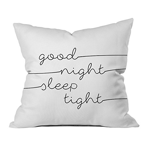 Oh, Susannah Good Night Sleep Tight 18x18 Inch Throw Pillow