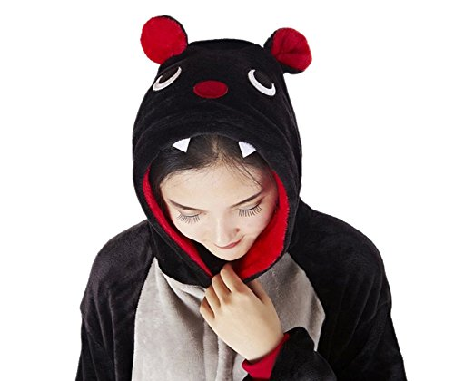 Pijama disfraz para adultos unisex, Cosplay, Halloween, Carnaval Pipistrello