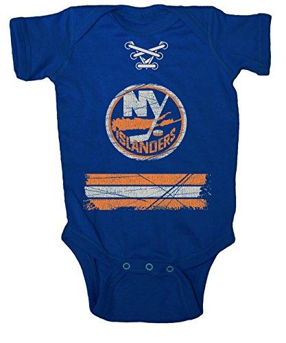 NHL NY Islanders Beeler Vintage Infant Jersey Creeper, 6-Months, Blue (Time Jerseys Hockey Old)