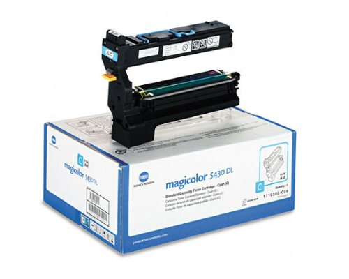 OEM Konica Minolta QMS 1710580-004 Cyan Toner Cartridge - 6,000 - Td 004