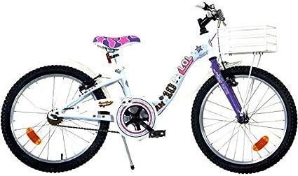 Mediawavestore Bicicleta paBicicleta para niña 20 Pulgadas LOL ...