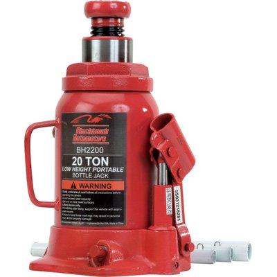 20 Ton Side Pump Bottle - Blackhawk BH2200B Bottle Jack (20 Ton Hydraulic Side Pump)