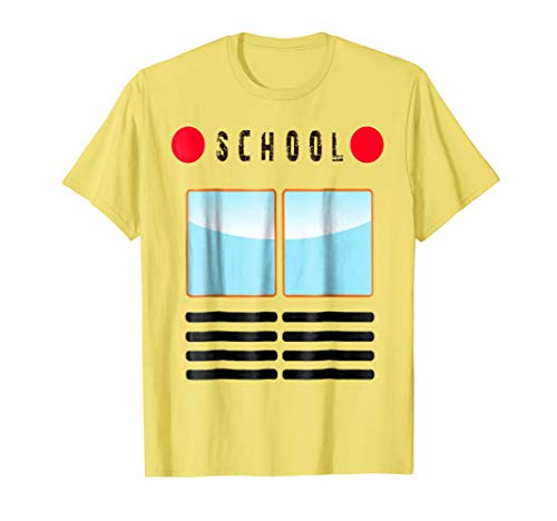 Funny School Bus T-Shirt Halloween Costume Adults and -
