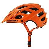 EDTara Casco de Bicicleta de Montaña Bicicleta EExtreme Sport Ciclismo Transpirable 22 Vents Casco de Seguridad Sombrero para Bicicleta Ciclismo