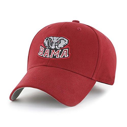 Alabama Crimson Tide Baseball - NCAA Alabama Crimson Tide Children Cinch Ots All-Star MVP Adjustable Hat, Kids, Razor Red