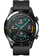 HUAWEI Watch GT 2 (46 mm) Smart Watch, 1.39 Inch AMOLED Display with 3D Glass Screen, 2 Weeks Battery Life, GPS, 15 Sport Modes, 3D Glass Screen, Bluetooth Calling Smartwatch, Matte Black
