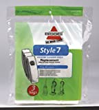 Bissell Lift-Off Vacuum Bag Style 7 Fits : Bissell Bagged 6 / Pack