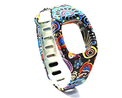 HONECUMI ZipBand Fitbit Zip Wristband Bracelet Colorful Replacement Bands(No tr...