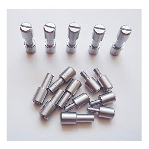 Corby Bolts Fasteners,10 sets/lot,EDC knives maker screws,Tactics lock Rivet,DIY knife handle fastener Revits (Stainless Steel)