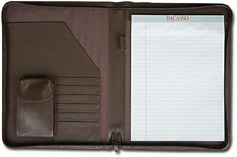 Zippered Portfolio Binder Carry Bag Handle 3-Ring Binder,14x20,Black