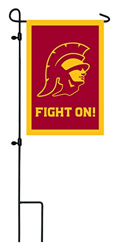 (Team Sports America USC Trojans Applique Garden Flag, 12.5 x 18 inches)