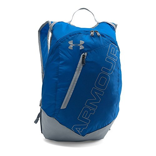 Under Armour Packable Backpack, Royal (400)/Silver, One Size [並行輸入品] B07F4FFFKP