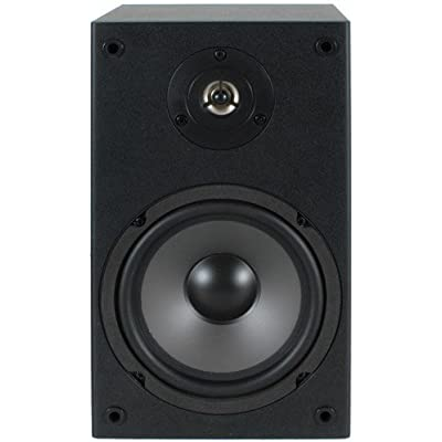Dayton Audio B652 6-1 2-Inch 2-Way Bookshelf Speaker Pair