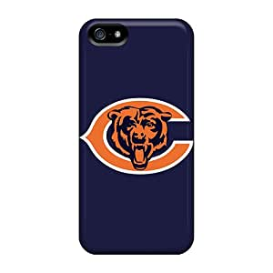 Great Cell-phone Hard Cover For Apple Iphone 5/5s With Customized Beautiful Chicago Bears Logo Series WayneSnook