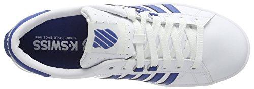 Sneakers Uomo Blue K weiß swiss Hoke Da brunner Bianco white 158 EwWWApq1Z