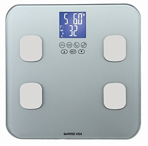 gowise-usa-slim-digital-bathroom-scale-measures-weight-body-fat-water-bone-mass-400-lbs-capacity-tem