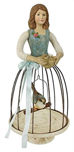 Spring Girl with Cage Skirt